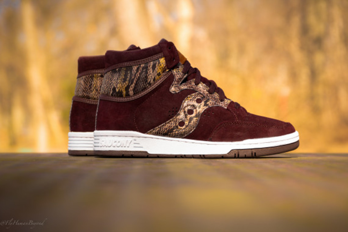 "Packer Shoes x Saucony Hangtime Hi - ""Brown Snake"" - 8"