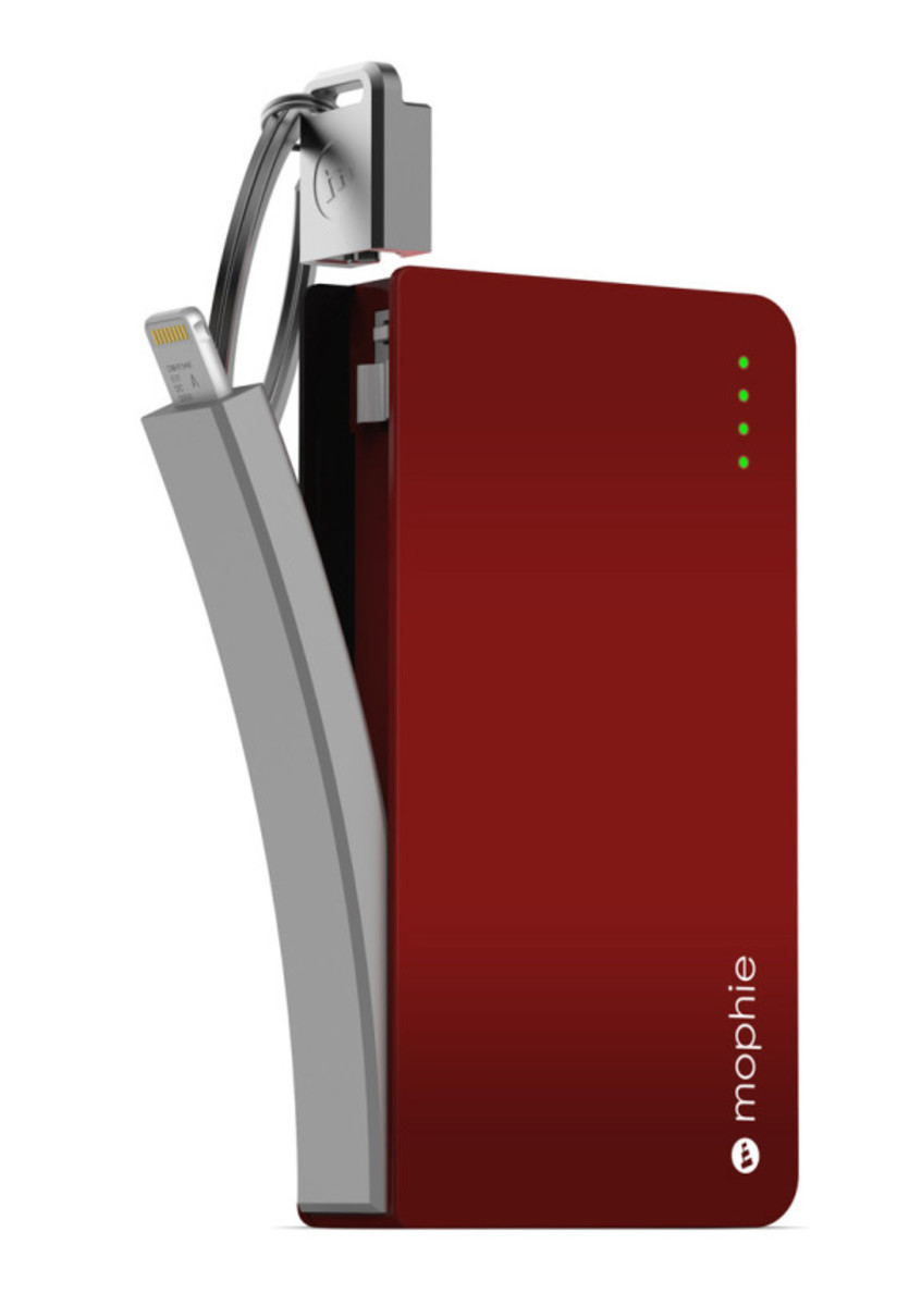 Mophie - Power Reserve with Integrated Lightning Connector - 0