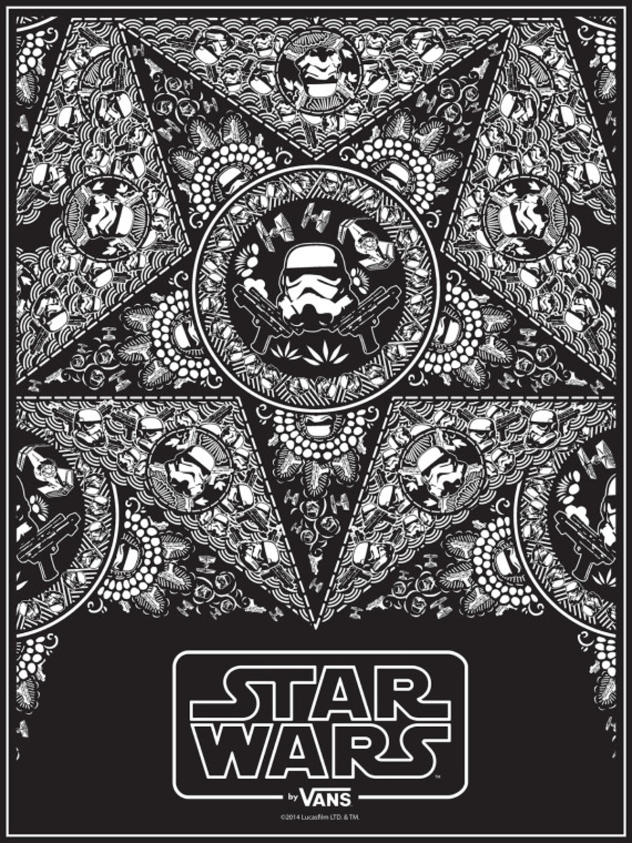 Star Wars x VANS - Limited Edition Posters for Comic-Con International: San Diego 2014 - 3