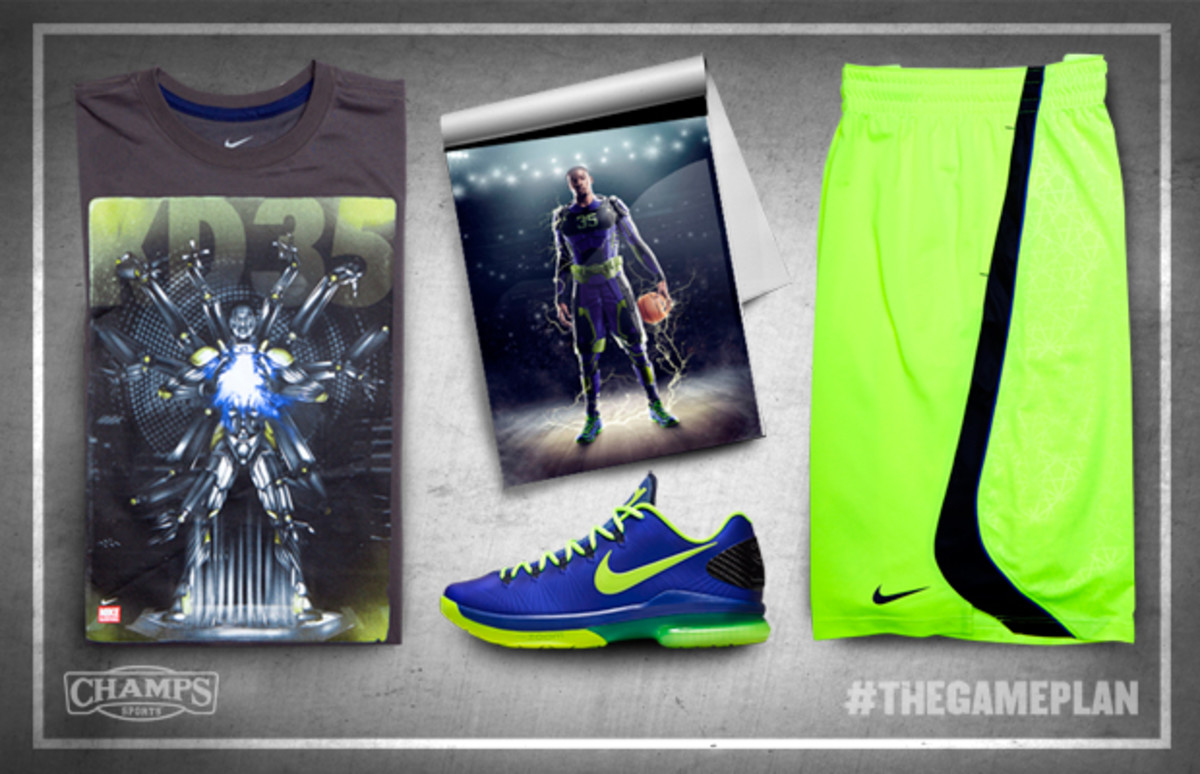 The Game Plan by Champs Sports - Nike Basketball Superhuman Collection - 7