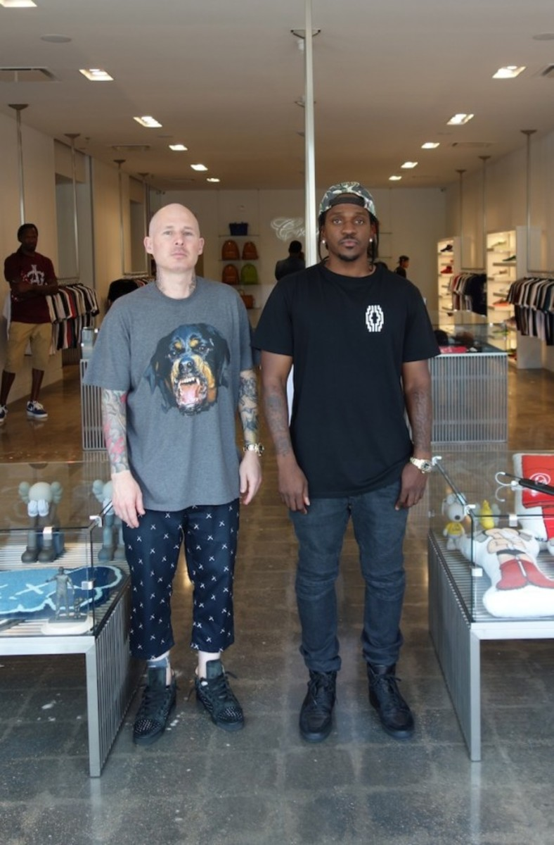 Creme - Pusha T Opens Second Shop in Virginia - 6