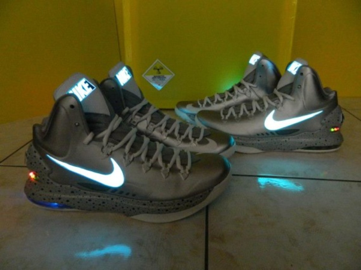 Nike KD V + MAG Customs by Kenny23Forever - 0