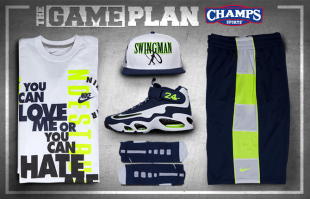 The Game Plan by Champs Sports – Nike Griffey Collection - 0