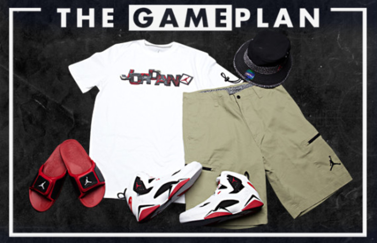 The Game Plan by Champs Sports - Jordan Carmine Collection - 3