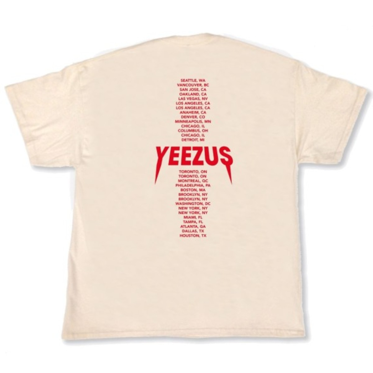"""Kanye West - """"Yeezus Tour"""" Merchandise   Available Online - 10"""