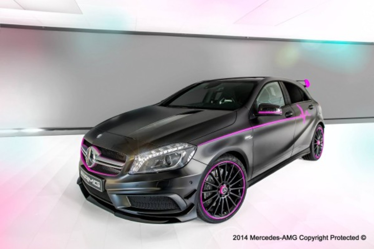 "Mercedes-Benz A45 AMG - ""Erika"" Custom - 1"