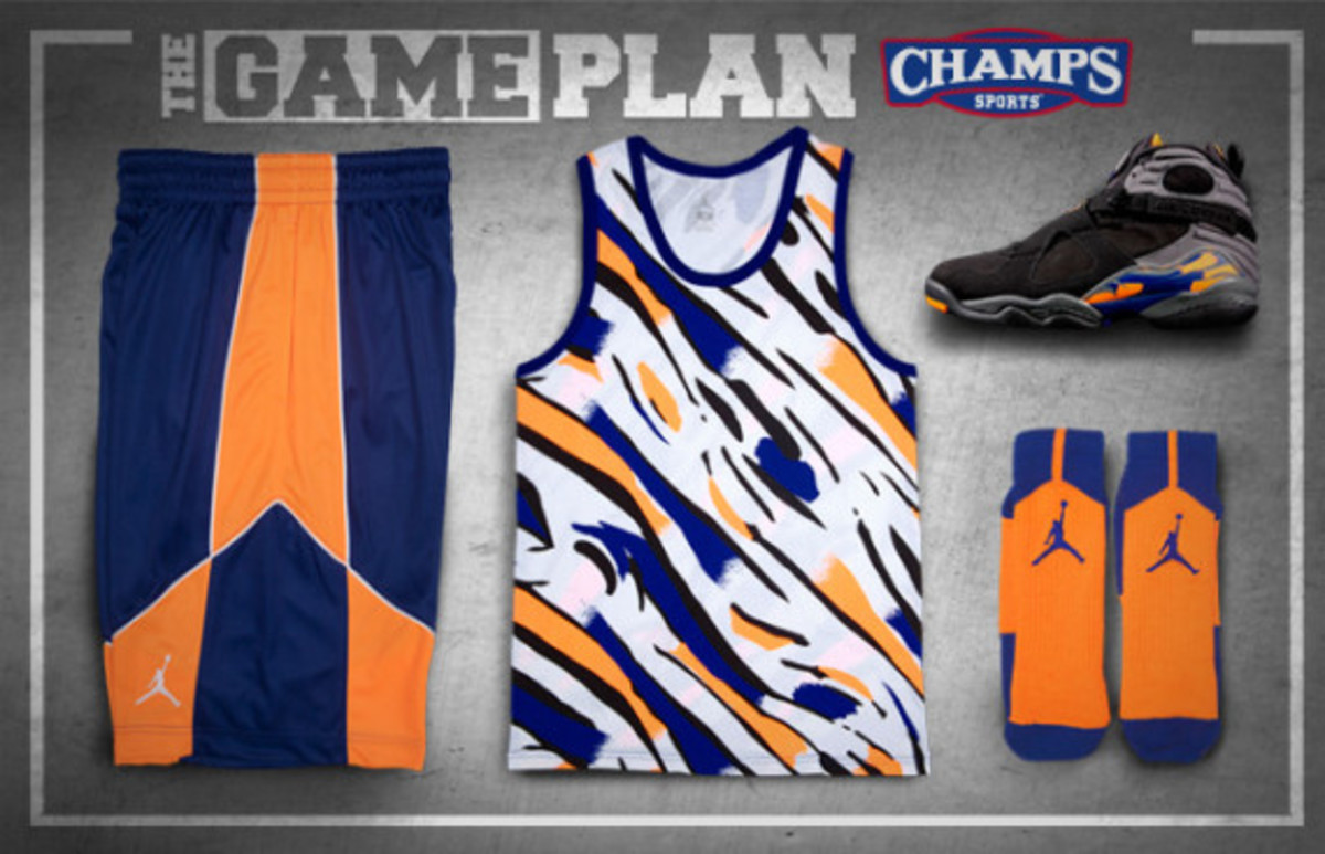 The Game Plan by Champs Sports – Jordan Suns/Knicks Collection - 0