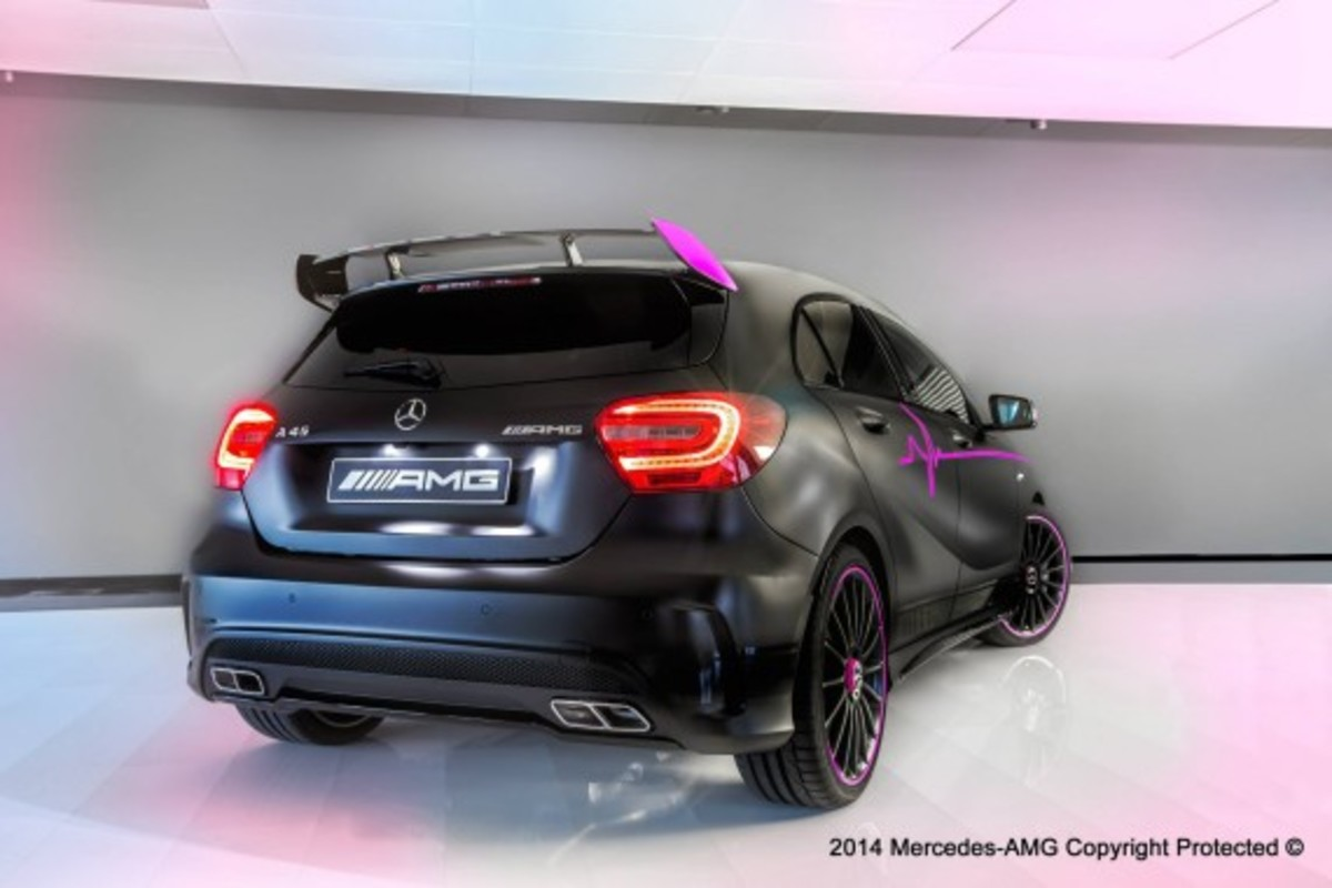 "Mercedes-Benz A45 AMG - ""Erika"" Custom - 2"