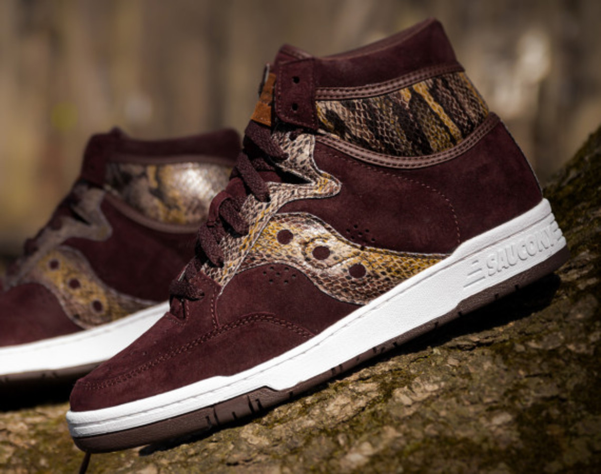 "Packer Shoes x Saucony Hangtime Hi - ""Brown Snake"" - 0"