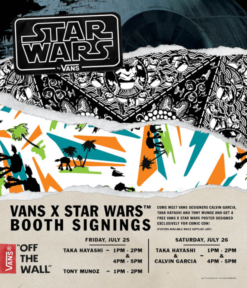 Star Wars x VANS - Limited Edition Posters for Comic-Con International: San Diego 2014 - 1