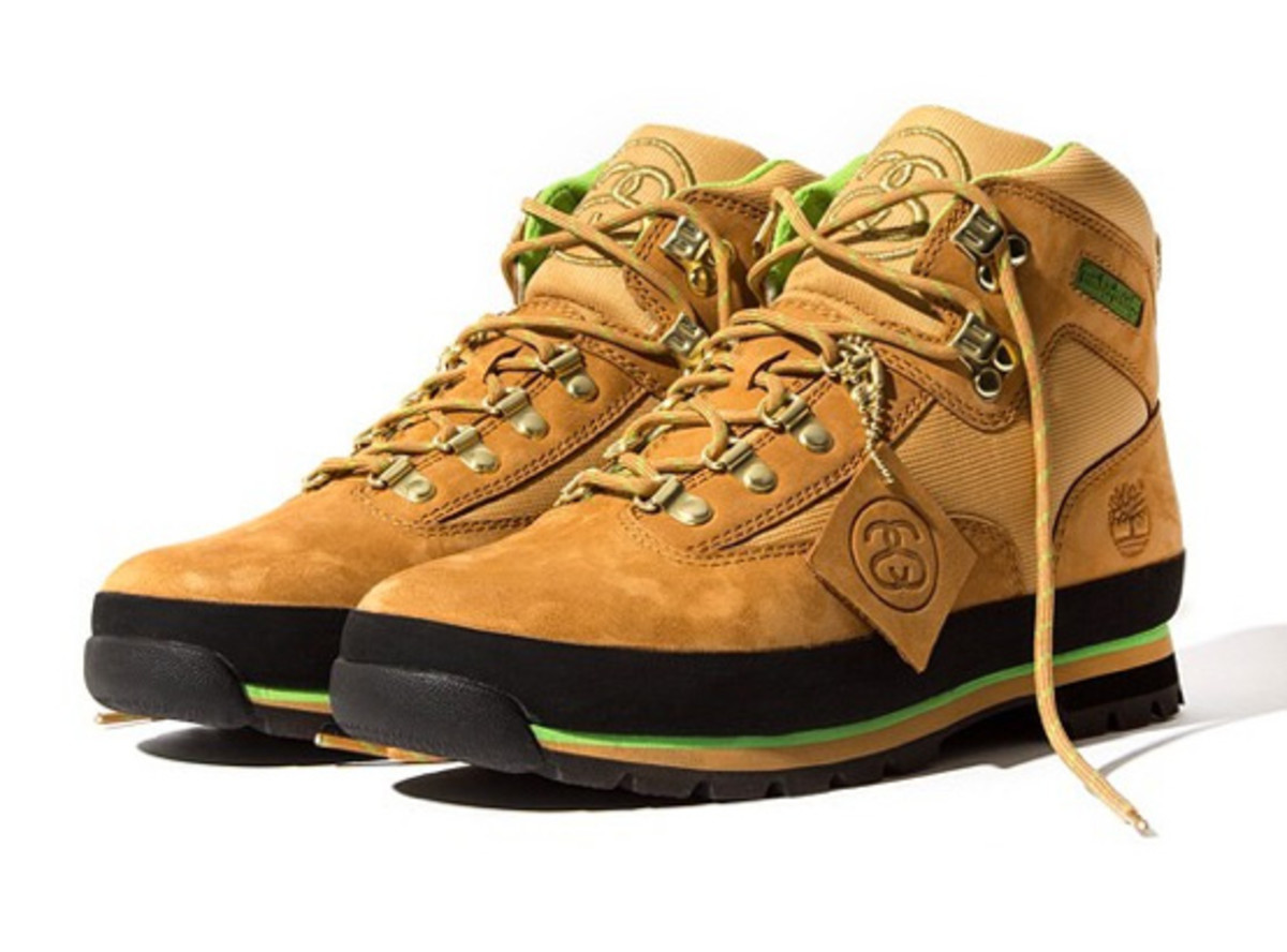 Stussy for Timberland - Euro Hiker Boots | Release Info