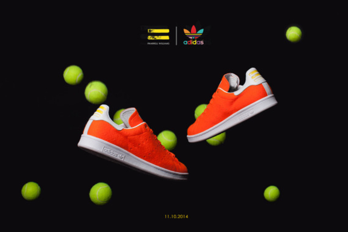 "Pharrell Williams x adidas Originals Stan Smith - ""Tennis"" Pack - 4"