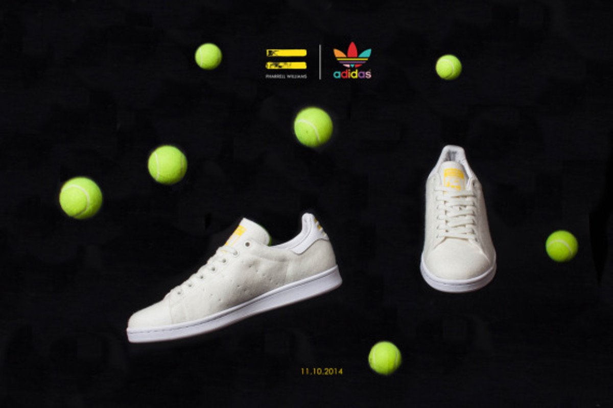 "Pharrell Williams x adidas Originals Stan Smith - ""Tennis"" Pack - 7"
