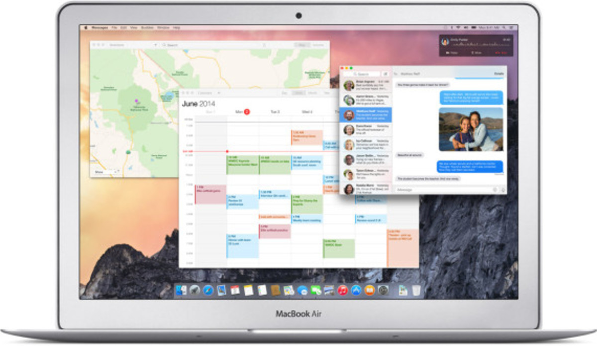 Apple OS X Yosemite - Operating System That Seamlessly Integrates Your Digital Life | Available Today - 1