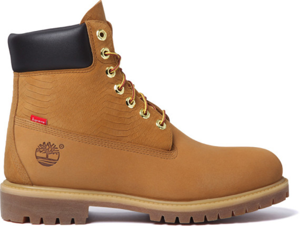 Supreme x Timberland - 6-Inch Premium Waterproof Boot | Available Now - 2