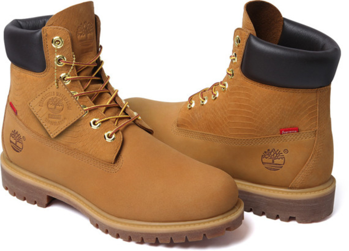 Supreme x Timberland - 6-Inch Premium Waterproof Boot | Available Now - 0