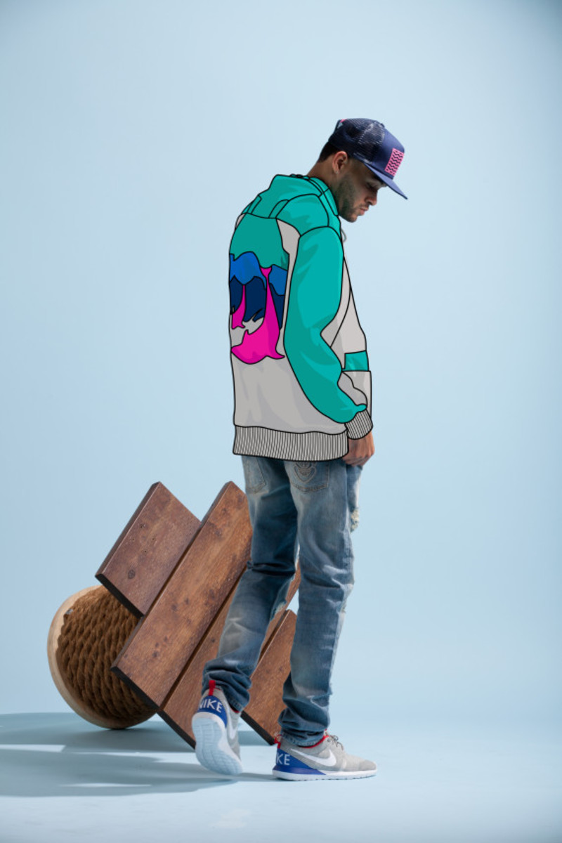 Pink + Dolphin – Summer 2014 Collection Lookbook - 1