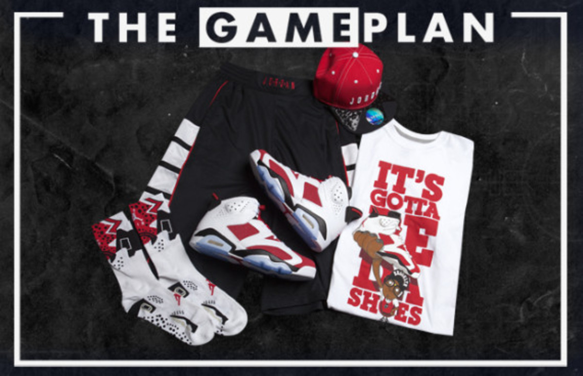 The Game Plan by Champs Sports - Jordan Carmine Collection - 1
