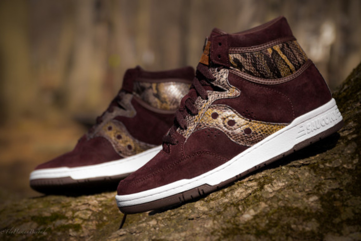"Packer Shoes x Saucony Hangtime Hi - ""Brown Snake"" - 3"