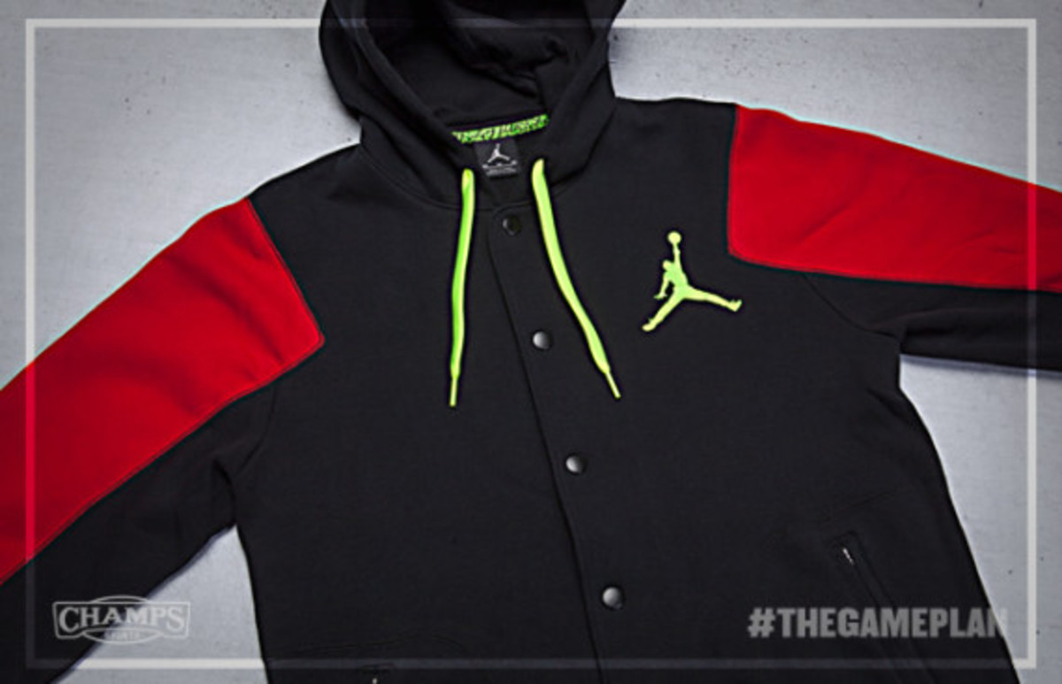 The Game Plan by Champs Sports - Jordan Fire Red Volt Collection - 7