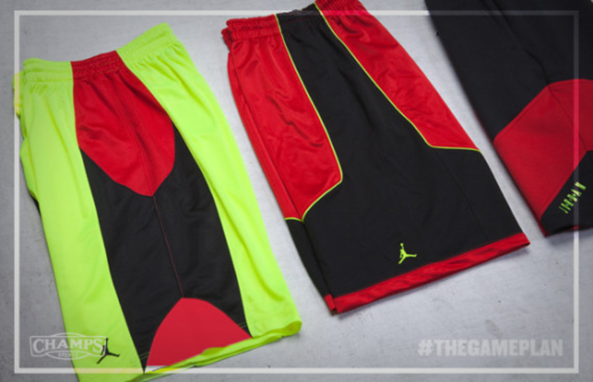 The Game Plan by Champs Sports - Jordan Fire Red Volt Collection - 6