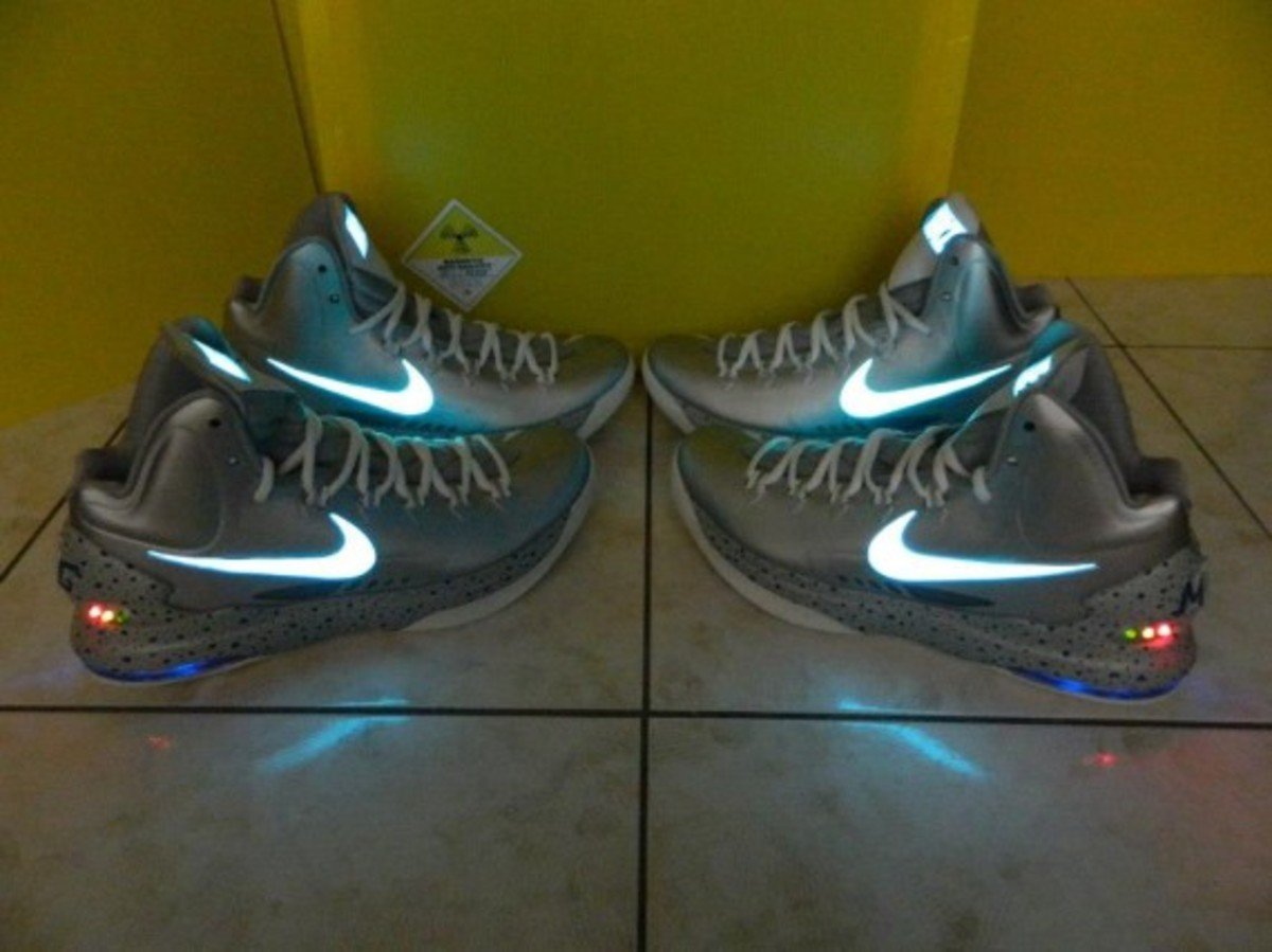 Nike KD V + MAG Customs by Kenny23Forever - 2