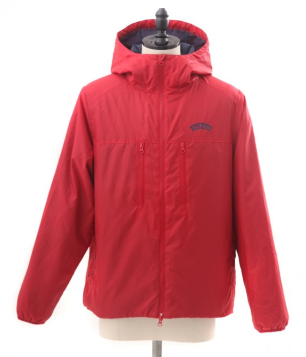 Insulation Hoodie Red