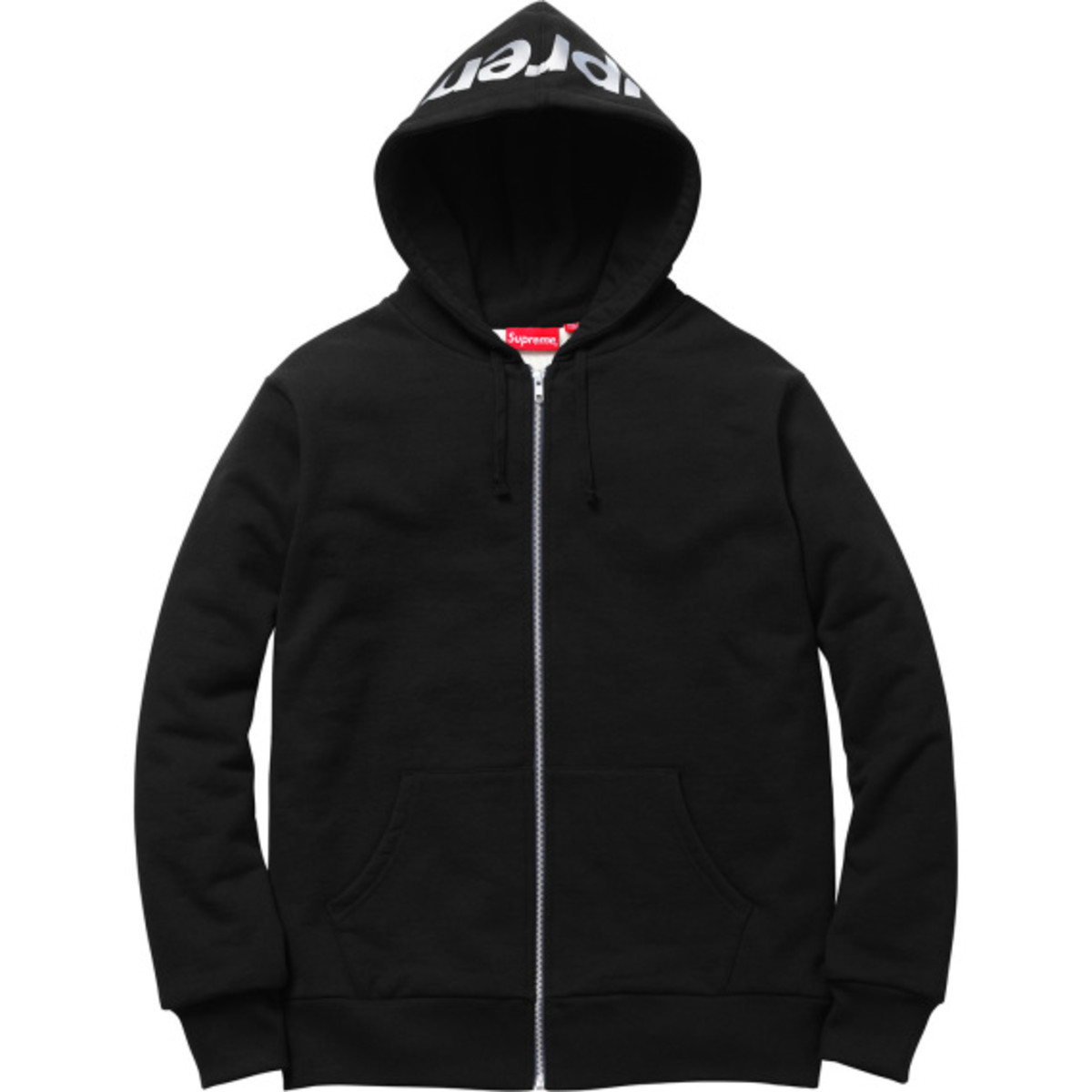 Supreme 3M Reflective Logo Thermal Zip-Up Hoodies | Available Now - 12