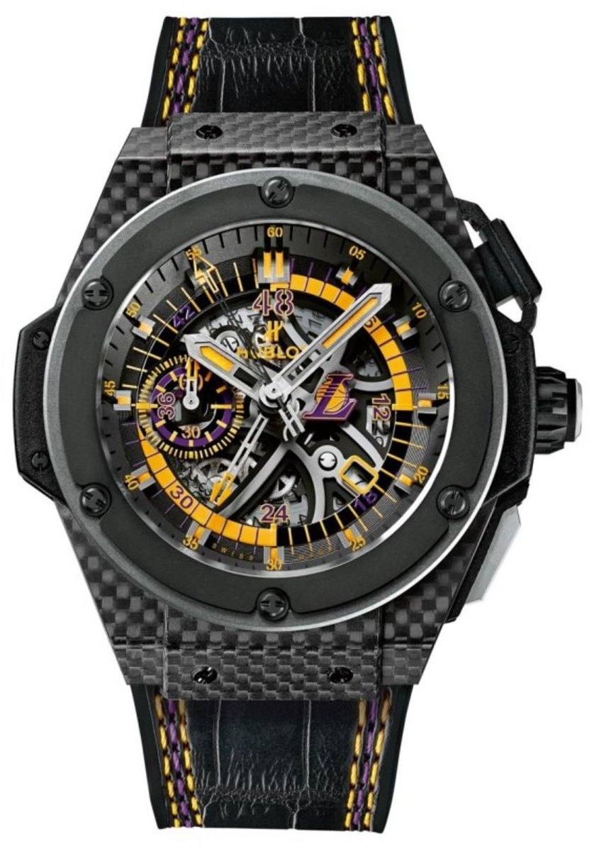 Los Angeles Lakers x HUBLOT King Power Watch - 0
