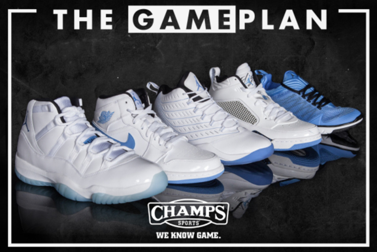 The Game Plan by Champs Sports - Jordan Legend Blue Collection - 1
