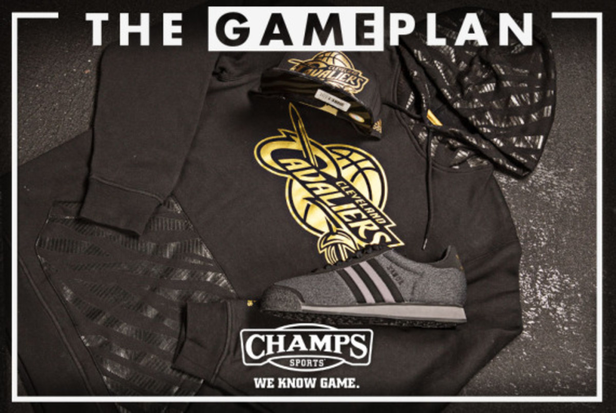 The Game Plan by Champs Sports - NBA Precious Metals Collection - 2