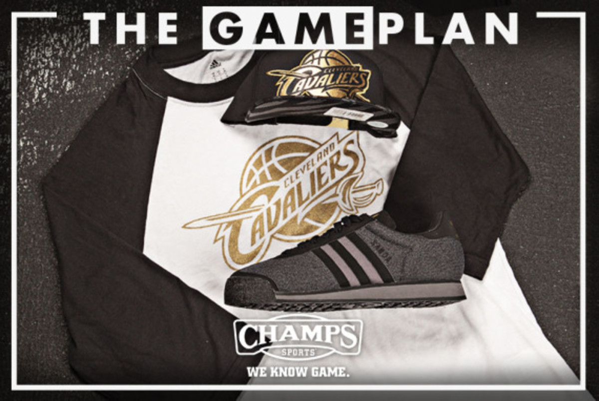The Game Plan by Champs Sports - NBA Precious Metals Collection - 3