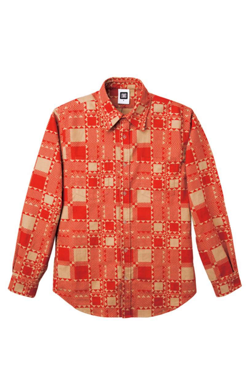 tribe-check-flannel-shirt-orange-oct