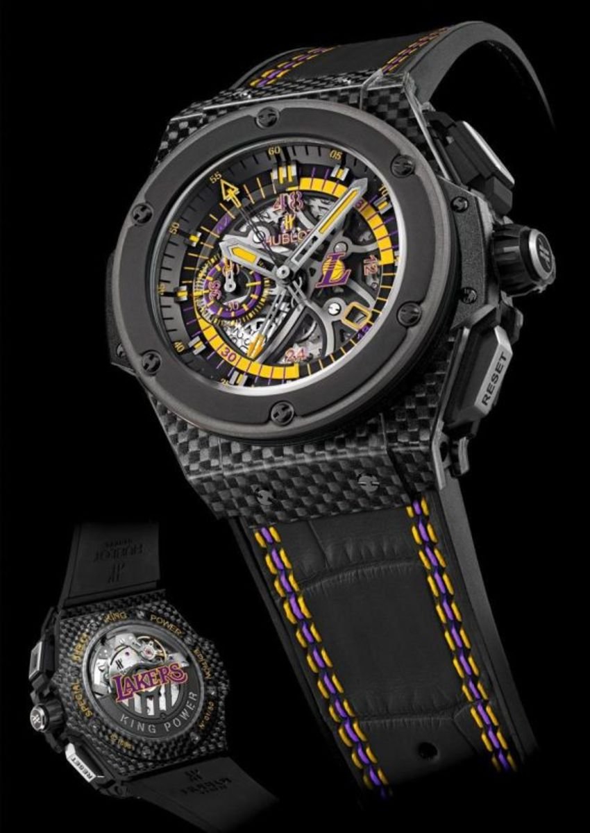 Los Angeles Lakers x HUBLOT King Power Watch - 2