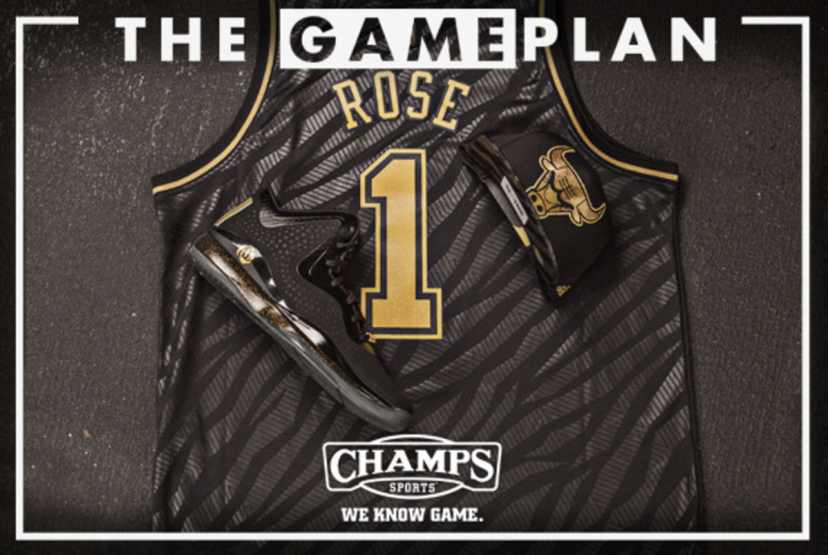 The Game Plan by Champs Sports - NBA Precious Metals Collection - 1