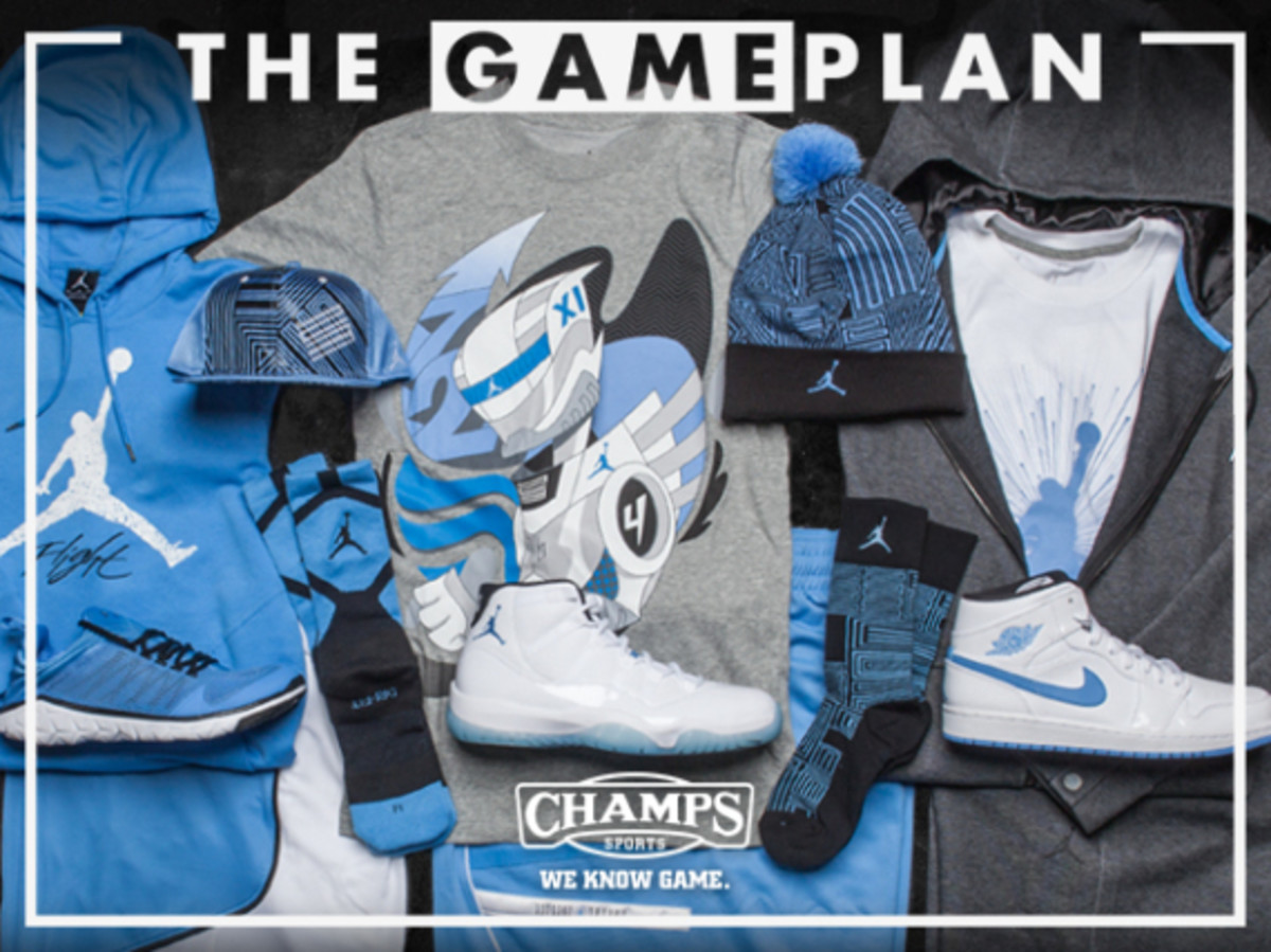 The Game Plan by Champs Sports - Jordan Legend Blue Collection - 0
