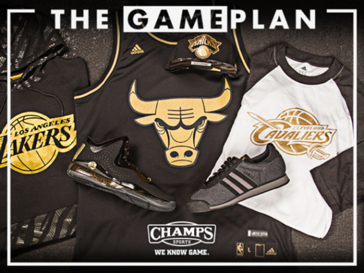 The Game Plan by Champs Sports - NBA Precious Metals Collection - 0