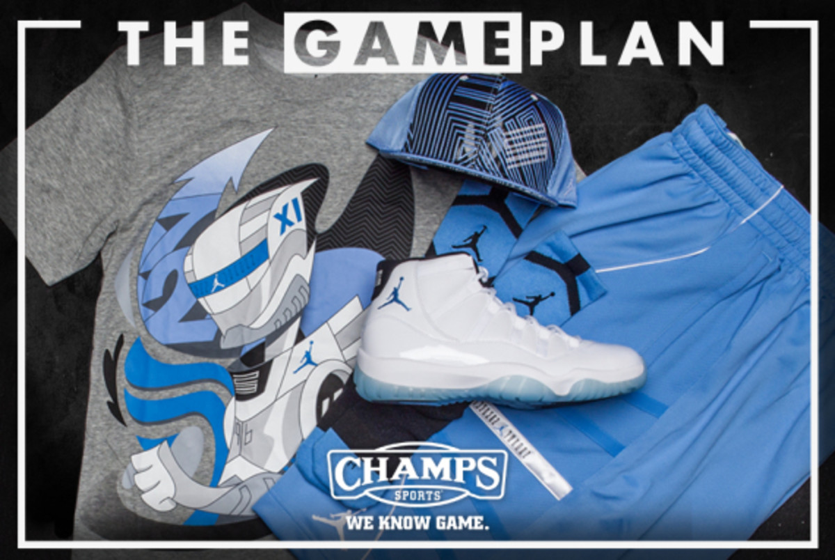 The Game Plan by Champs Sports - Jordan Legend Blue Collection - 4
