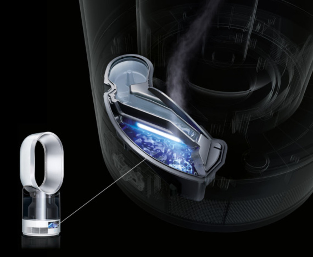 Dyson AM10 Humidifier - Kills 99.9% Of Germs with Ultraviolet Light - 3