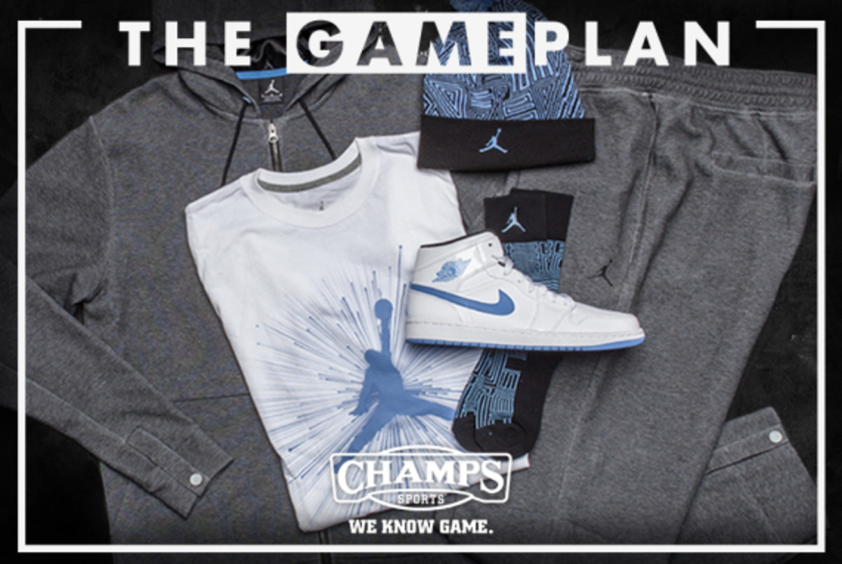The Game Plan by Champs Sports - Jordan Legend Blue Collection - 2