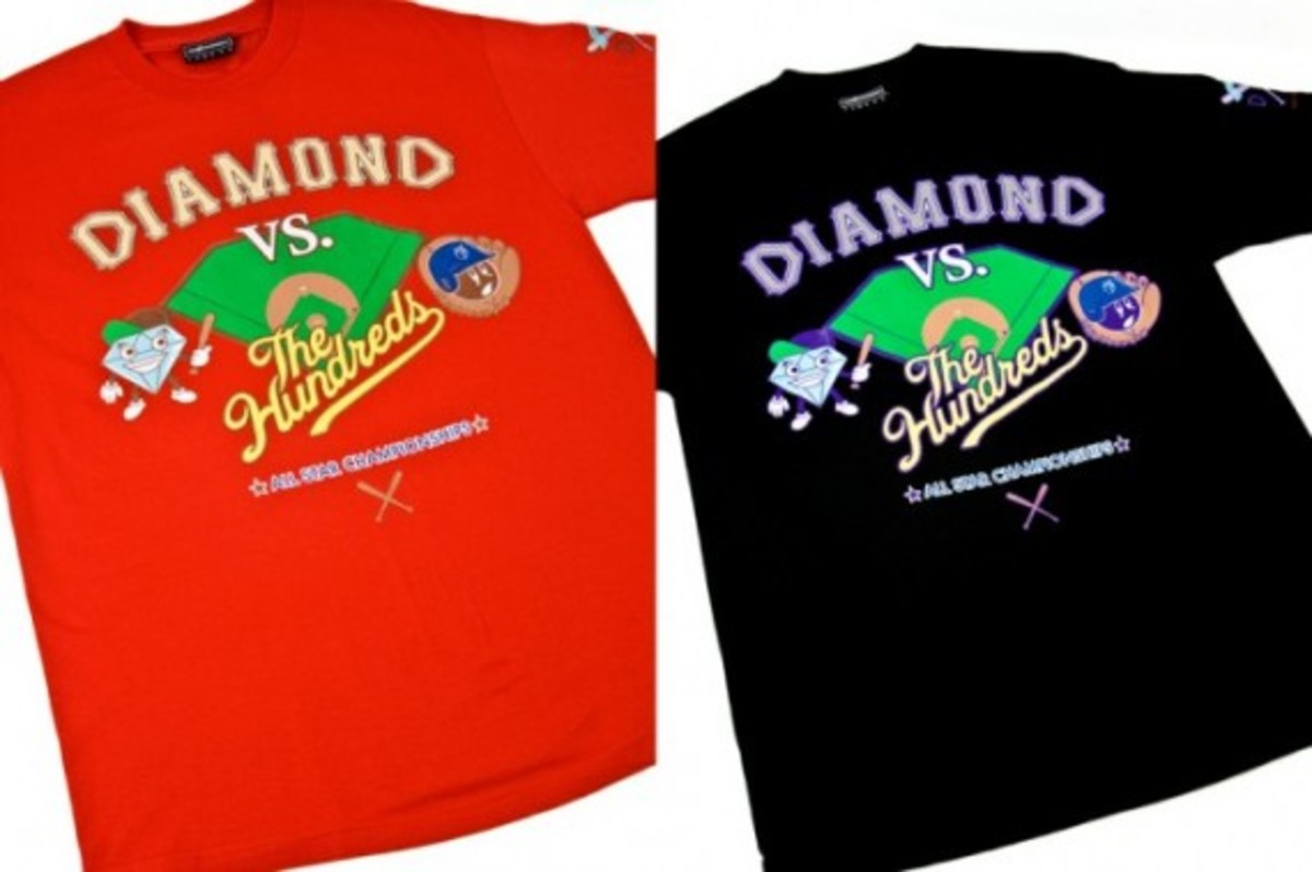 31cf82f61 The Hundreds x Diamond Supply Co. - T-Shirts | Available Again Now ...