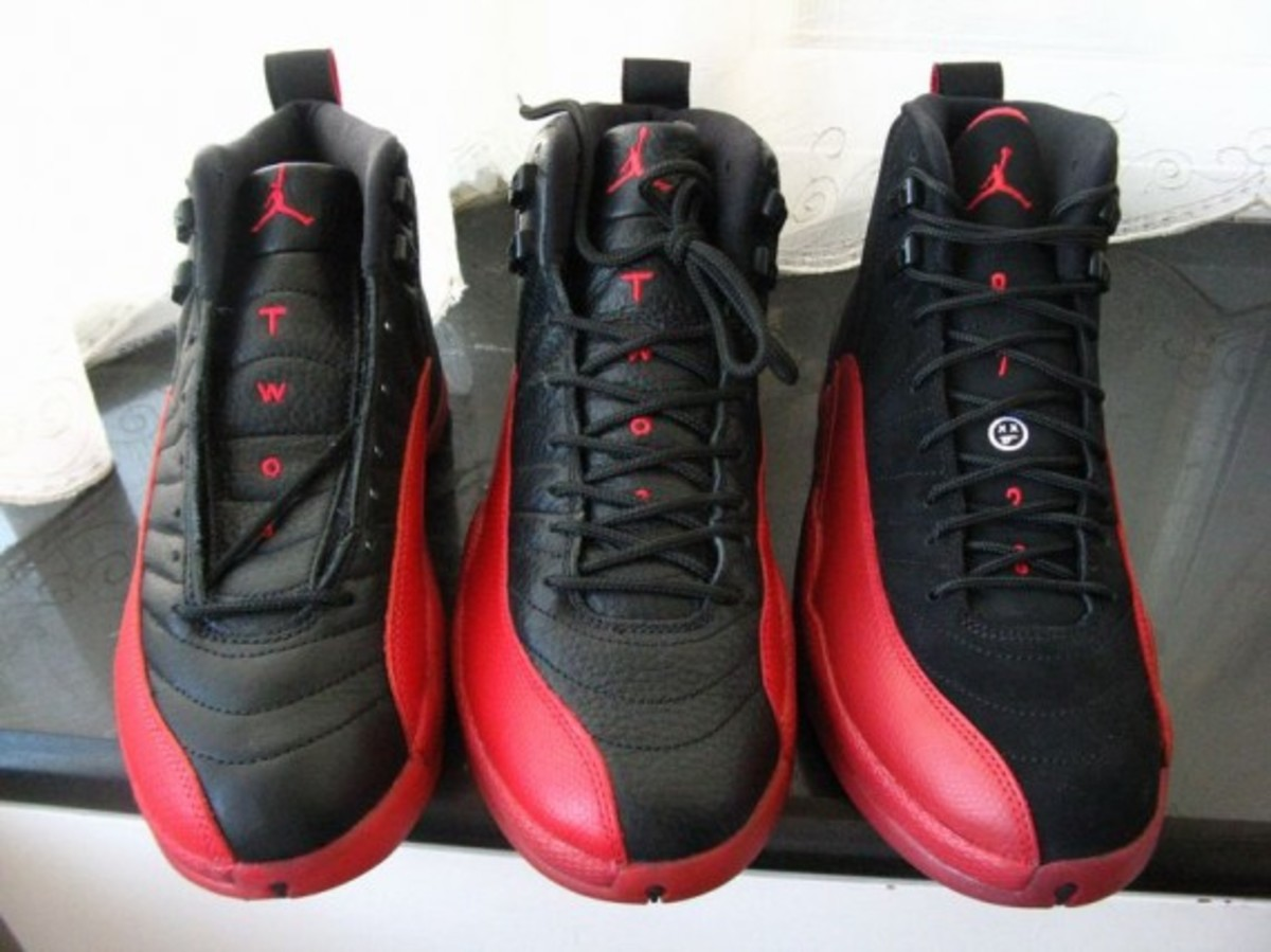 separation shoes d8134 376fc Air Jordan XII (12) Retro - Flu Game 1997 OG 2003 Retro 2009 ...