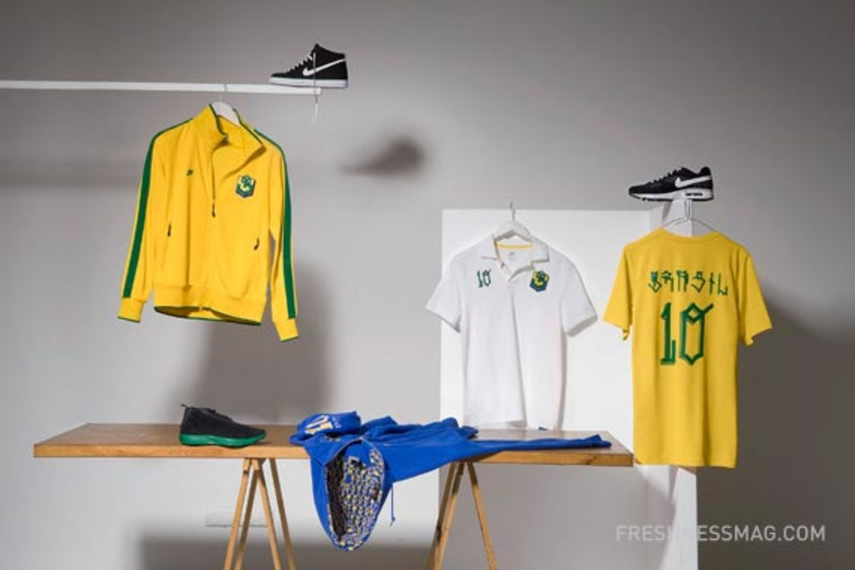 Nike Sportswear - Spring/Summer 2010 - Six (6) Collaboration - Brazil - Nunca