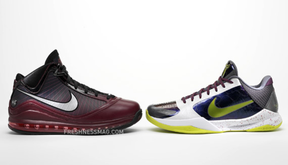 Nike Basketball - Kobe and LeBron Christmas Day Shoes - Freshness Mag