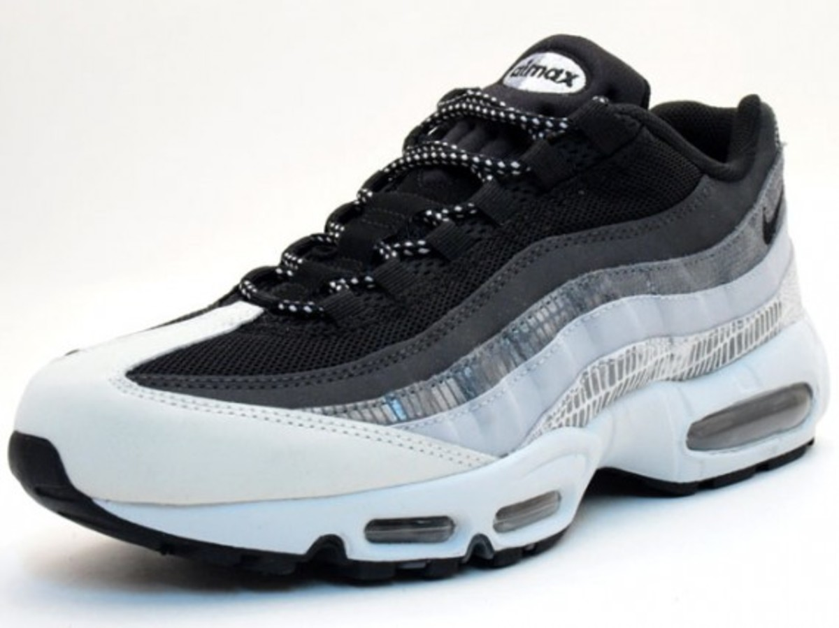 air max 95 black and white