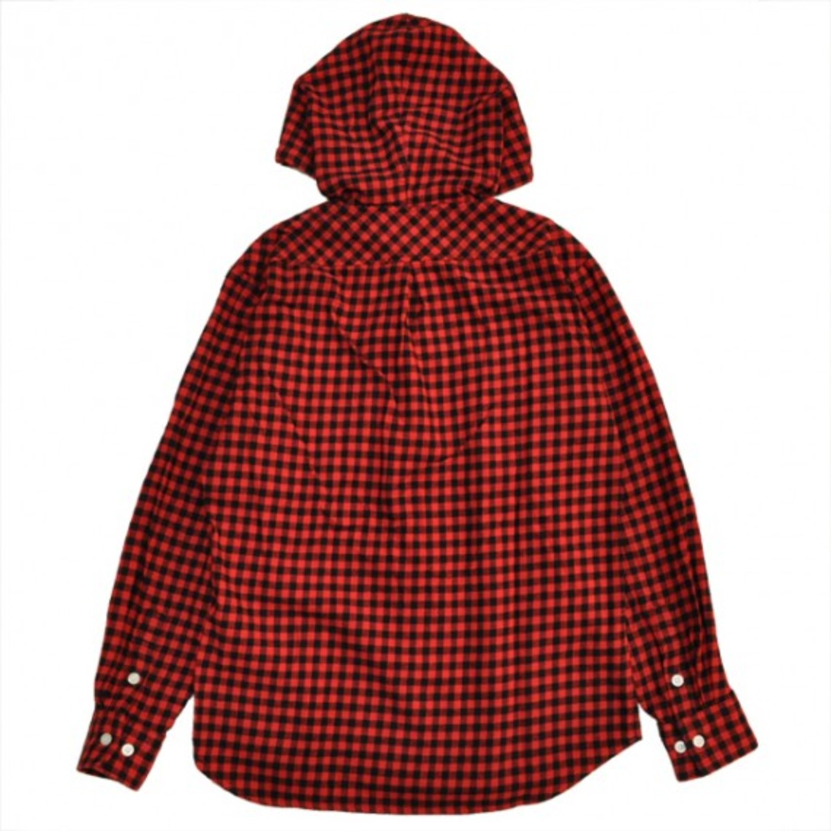 buffalo-check-hooded-shirt-red-2