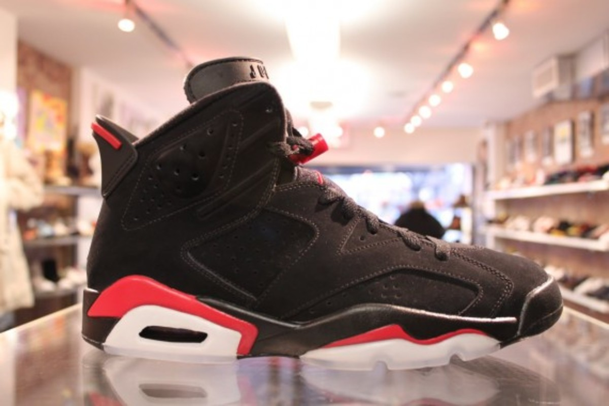 cheap for discount 81066 2a647 Air Jordan VI (6) Retro Black/Varsity Red | Available Now ...
