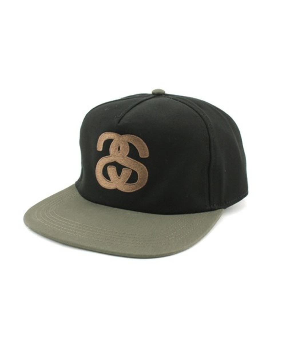 ss-two-tone-snap-back-cap-black