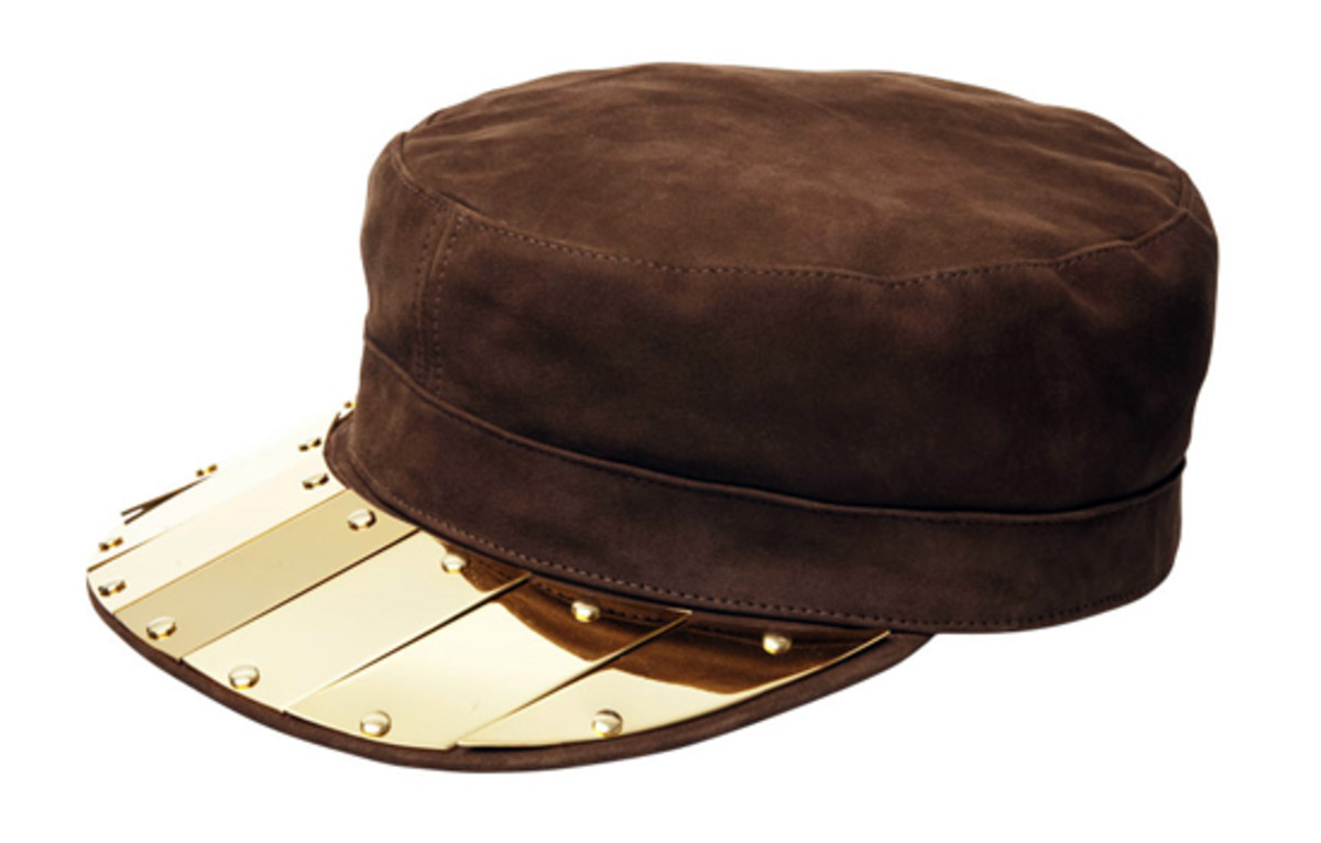 metal-leather-army-cap