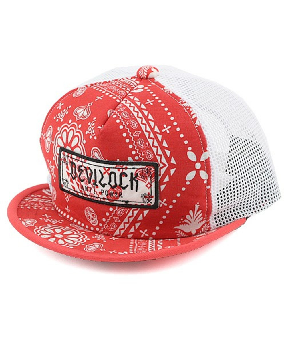 cycling-mesh-cap-red